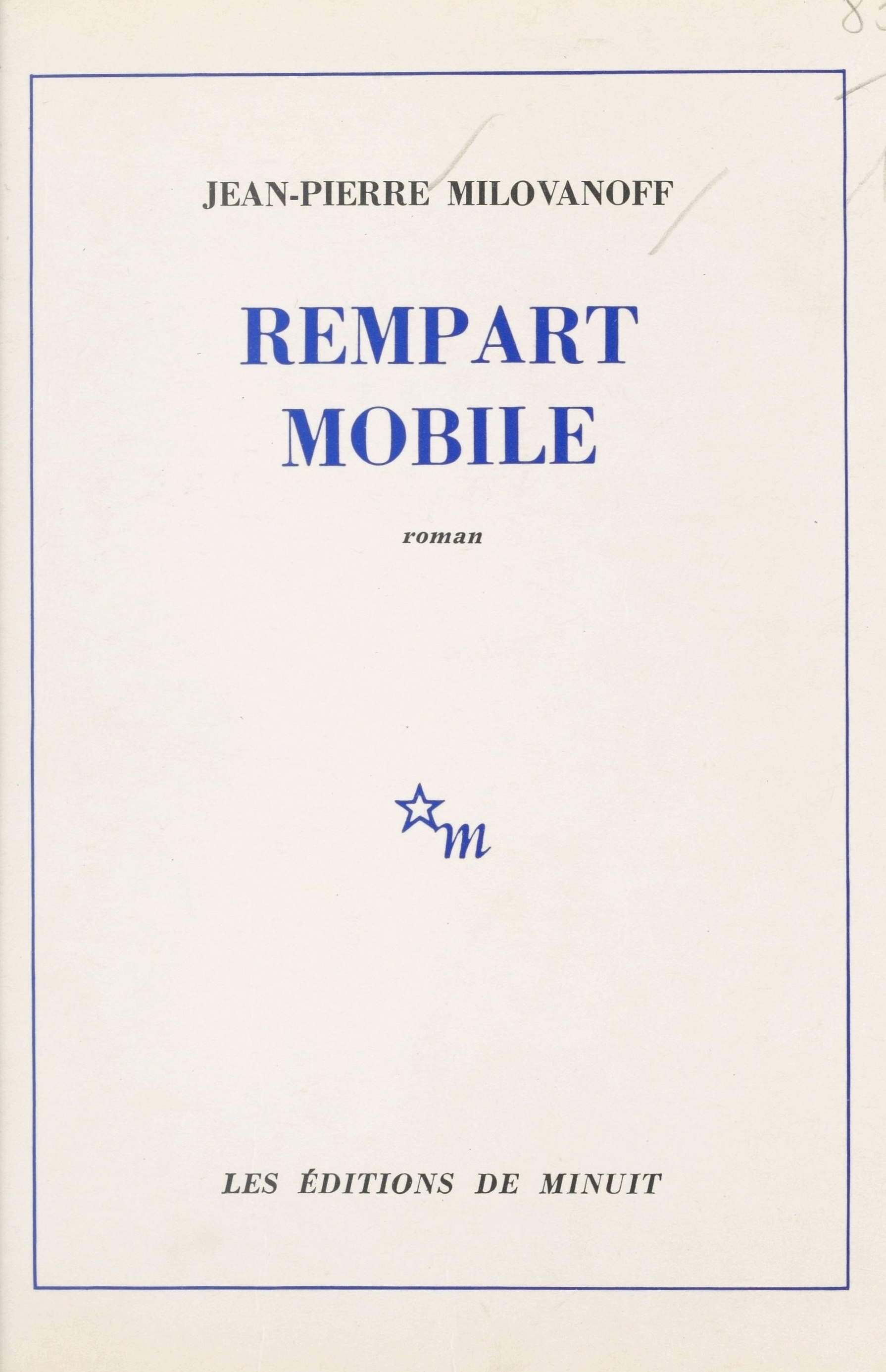 Rempart mobile