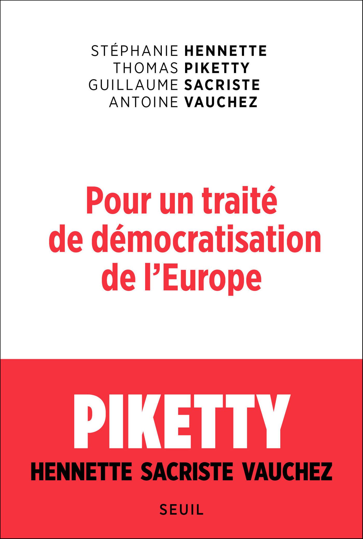 Pour un traité de démocratisation de l'Europe |