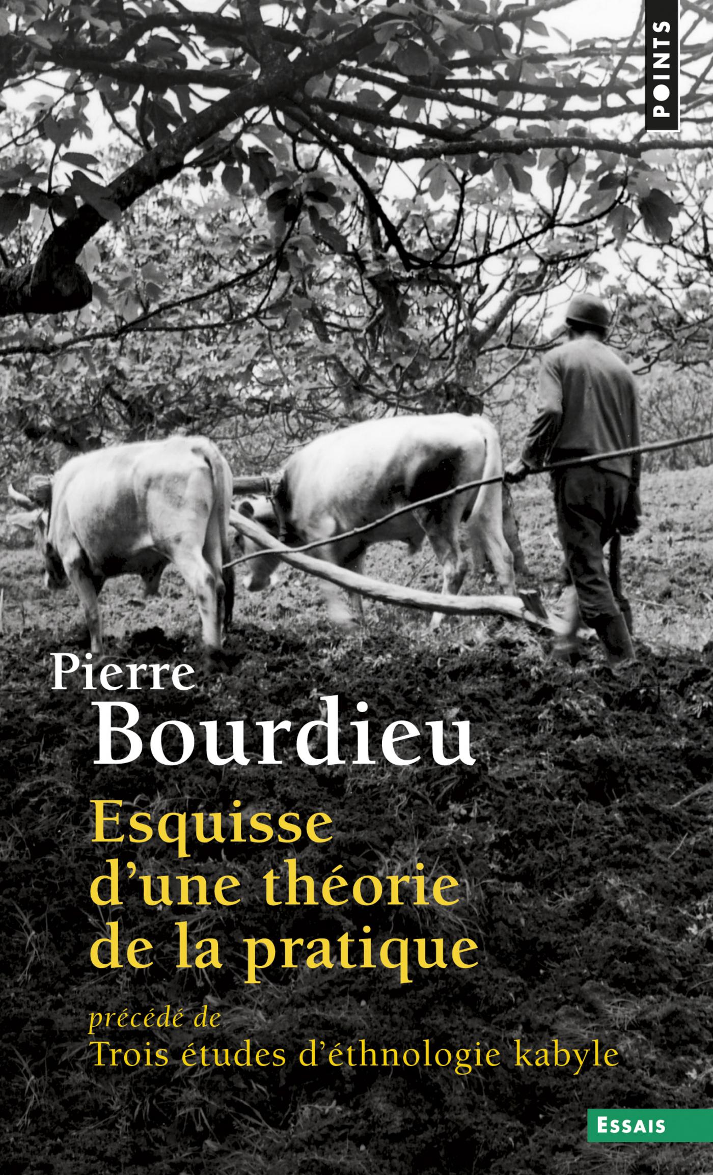 Esquisse d'une théorie de la pratique. précédé de Trois études d'ethnologie kabyle