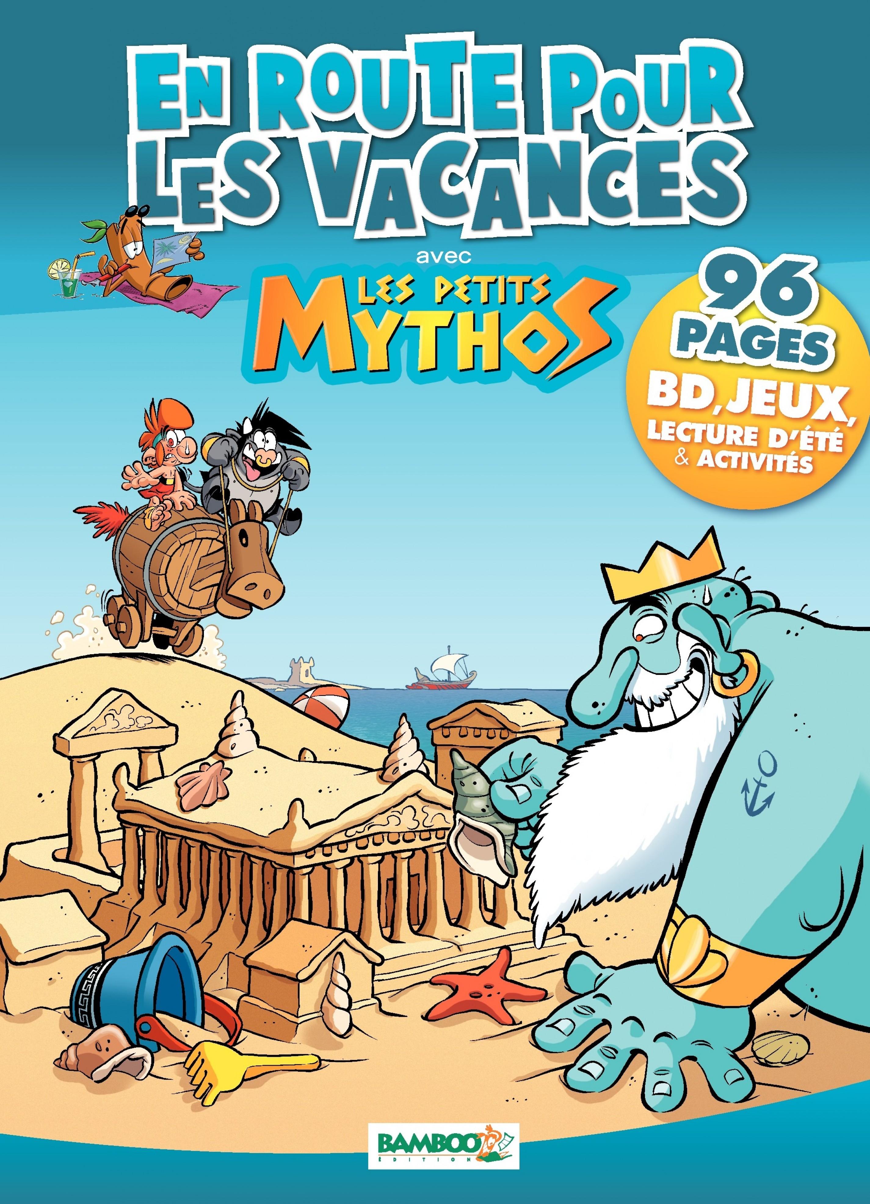 EN ROUTE POUR LES VACANCES AVEC LES PETITS MYTHOS