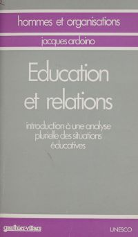 Propos actuels sur l'éducat...