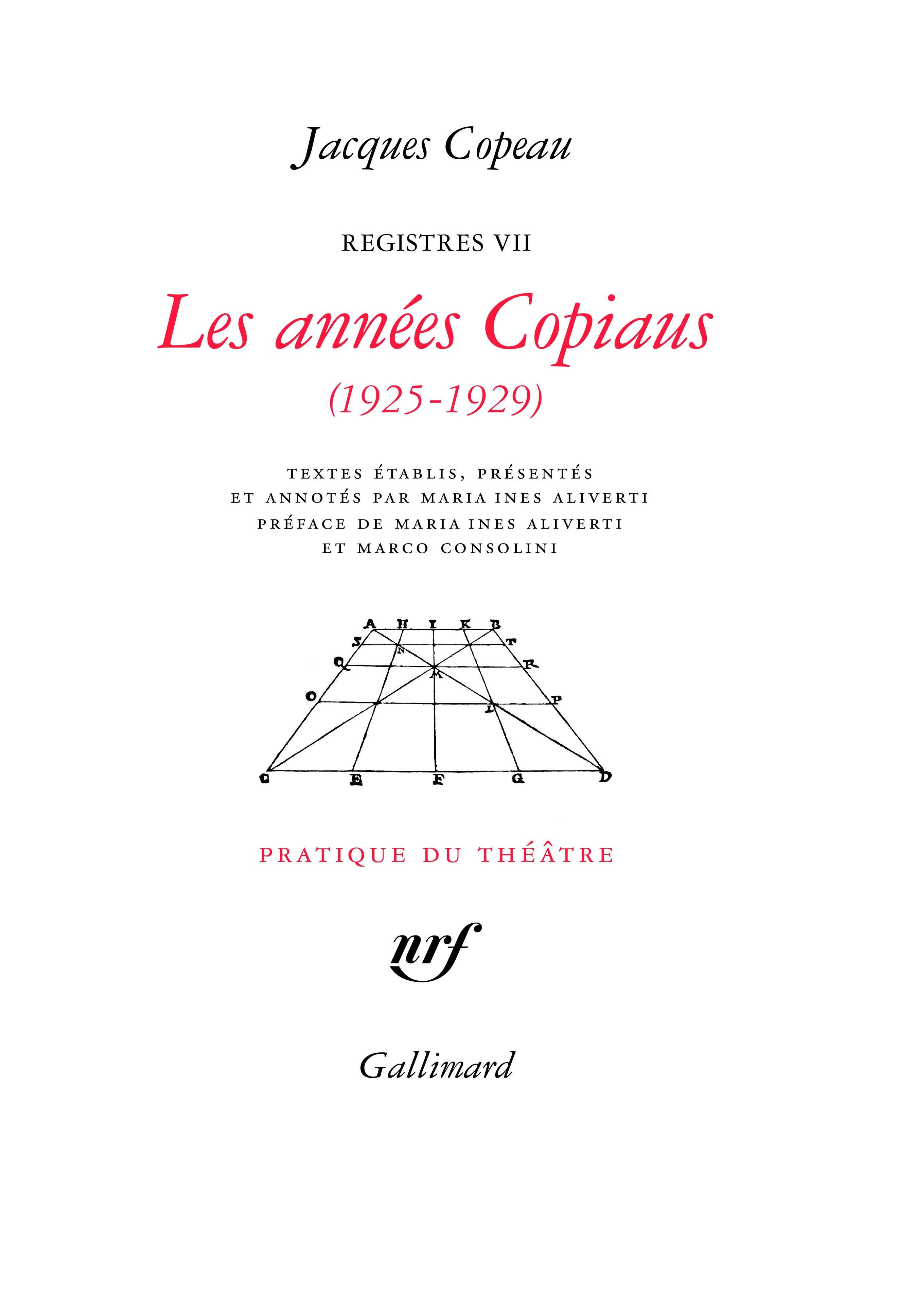 Les années Copiaus (1925-1929)