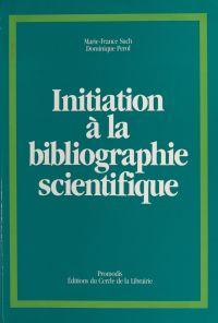 Initiation à la bibliograph...