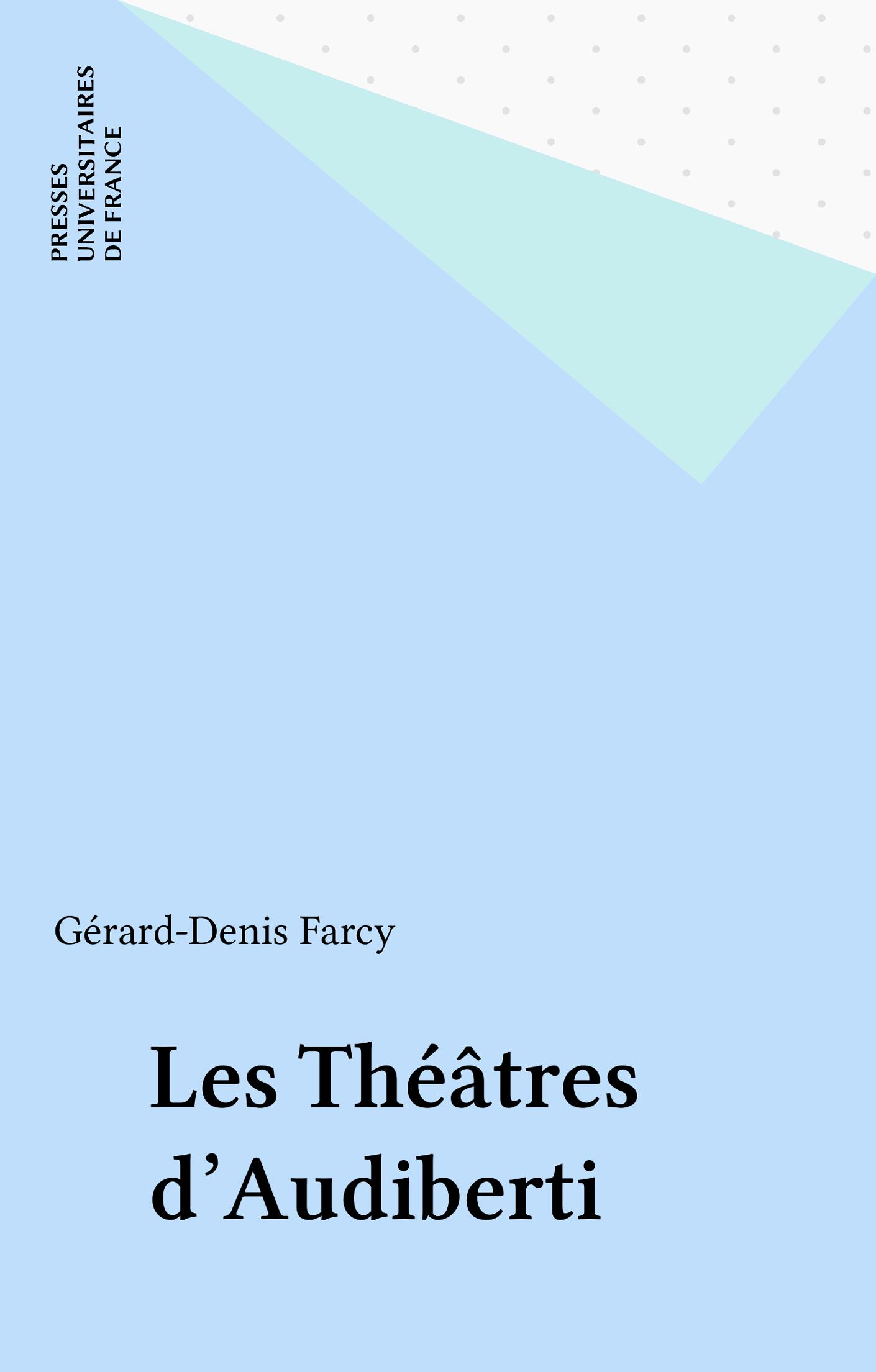 Les Théâtres d'Audiberti