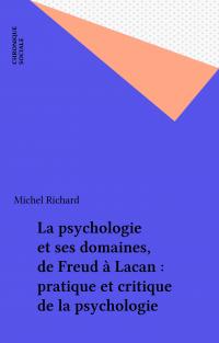 La psychologie et ses domai...