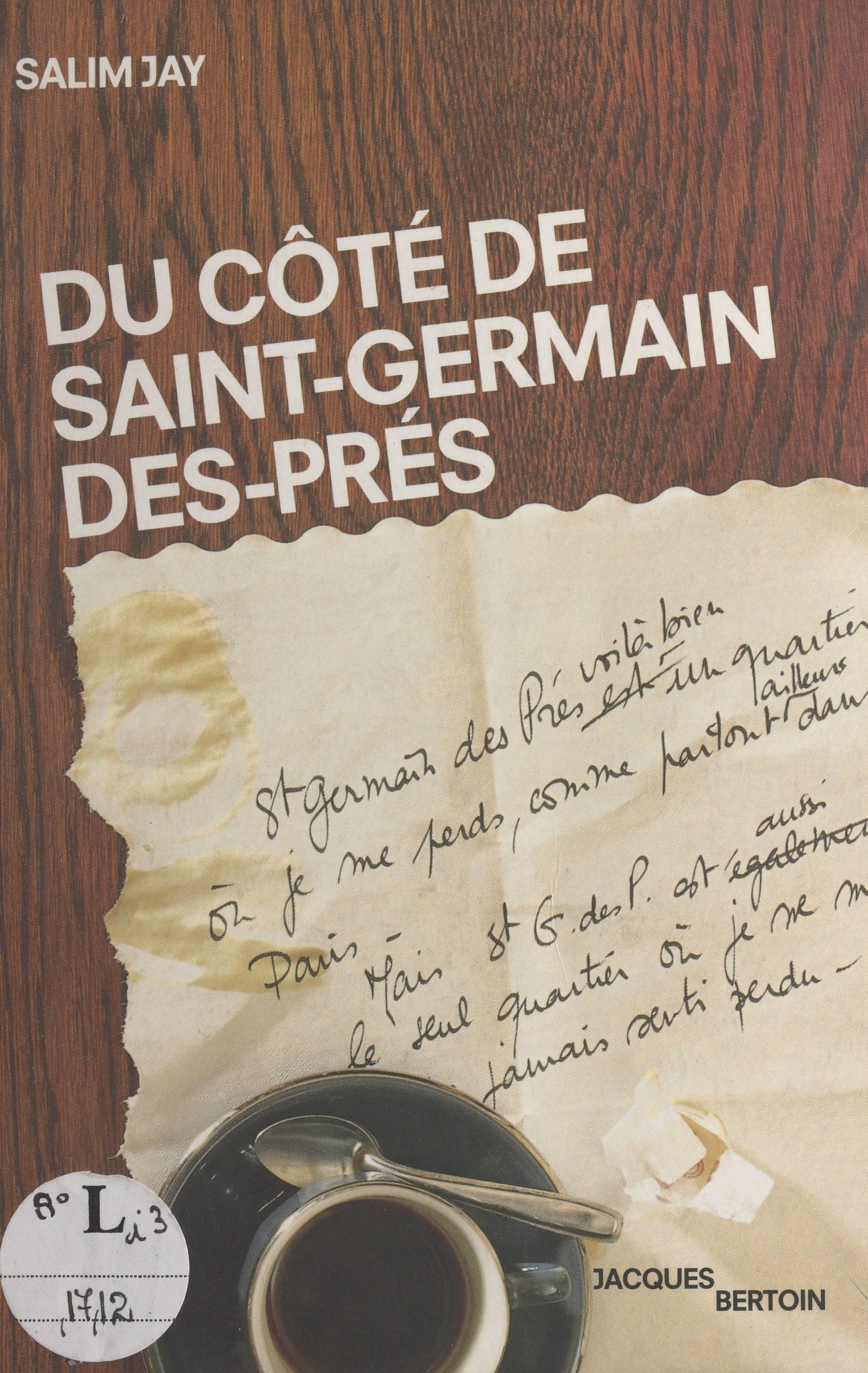 Du côté de Saint-Germain-des-Prés