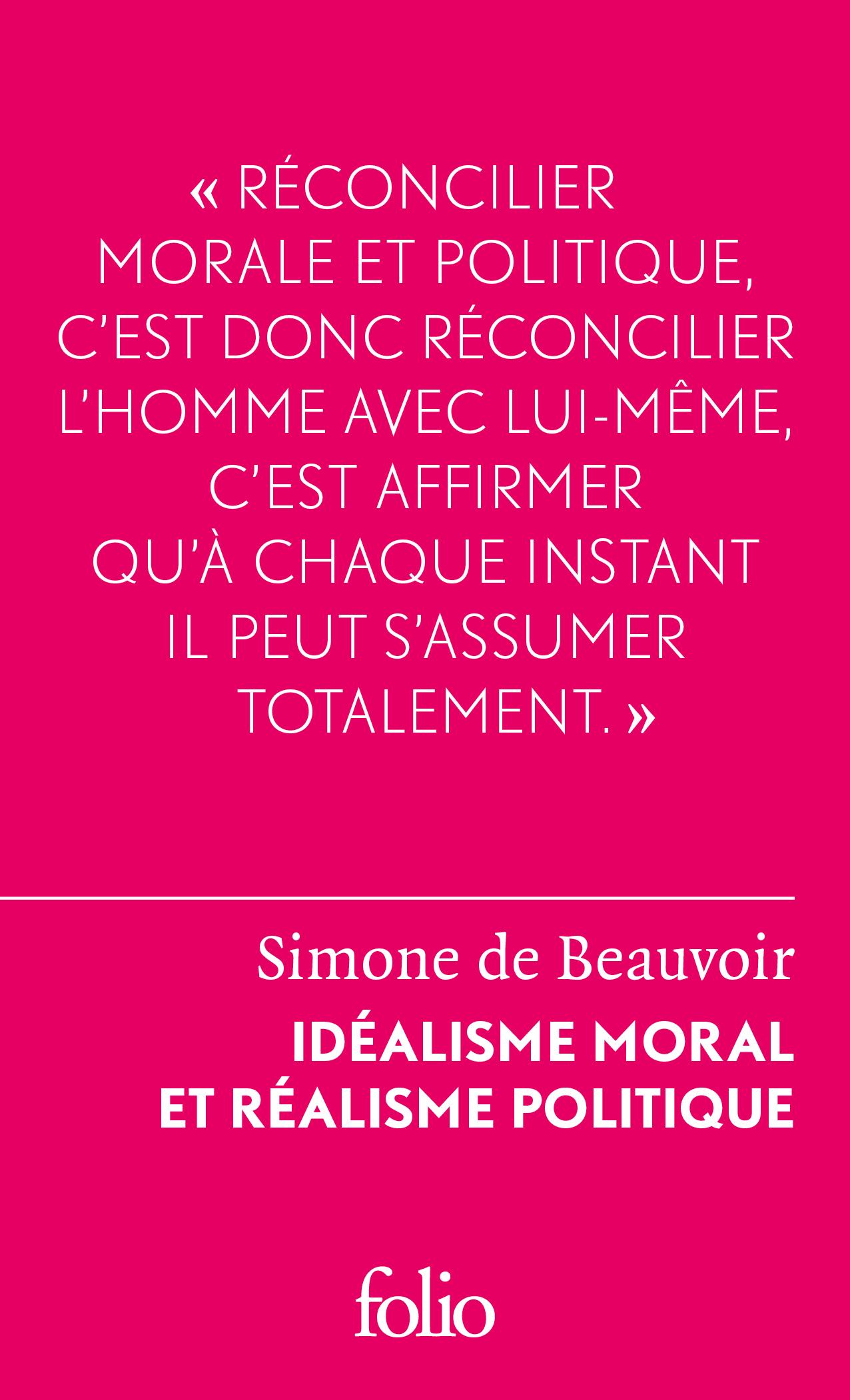 Idéalisme moral et réalisme politique