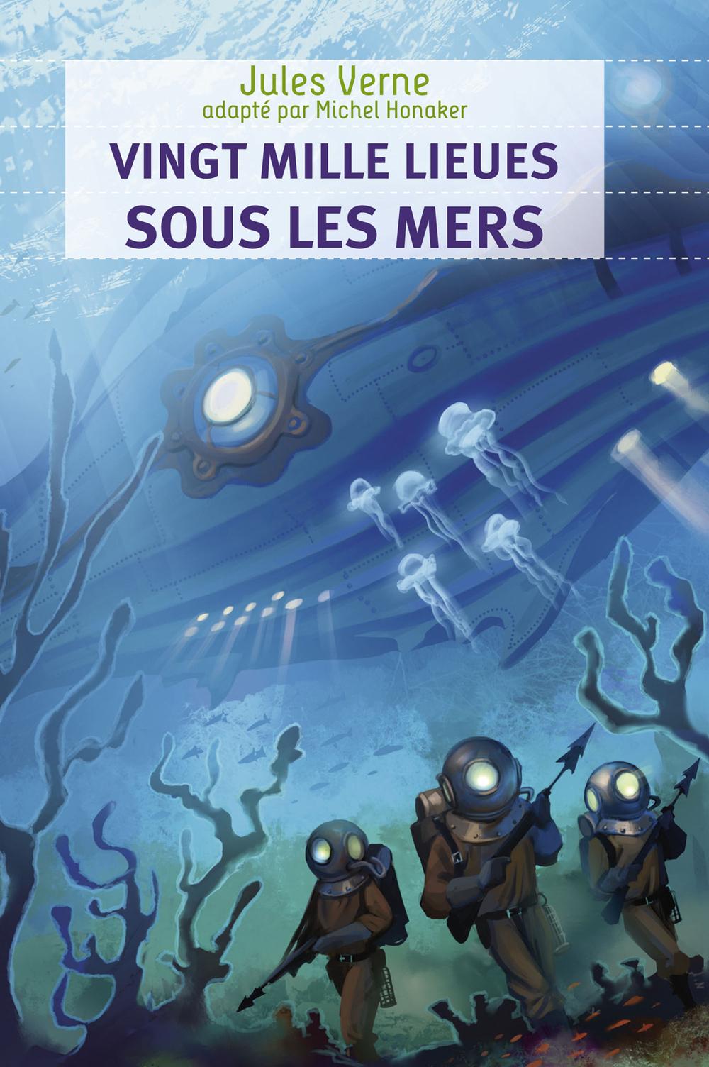 Vingt mille lieues sous les mers (édition adaptée)
