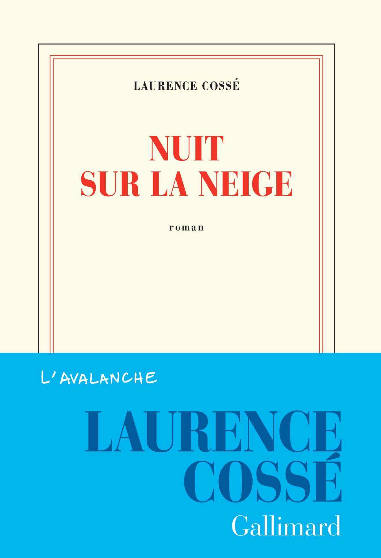 Nuit sur la neige   Cossé, Laurence