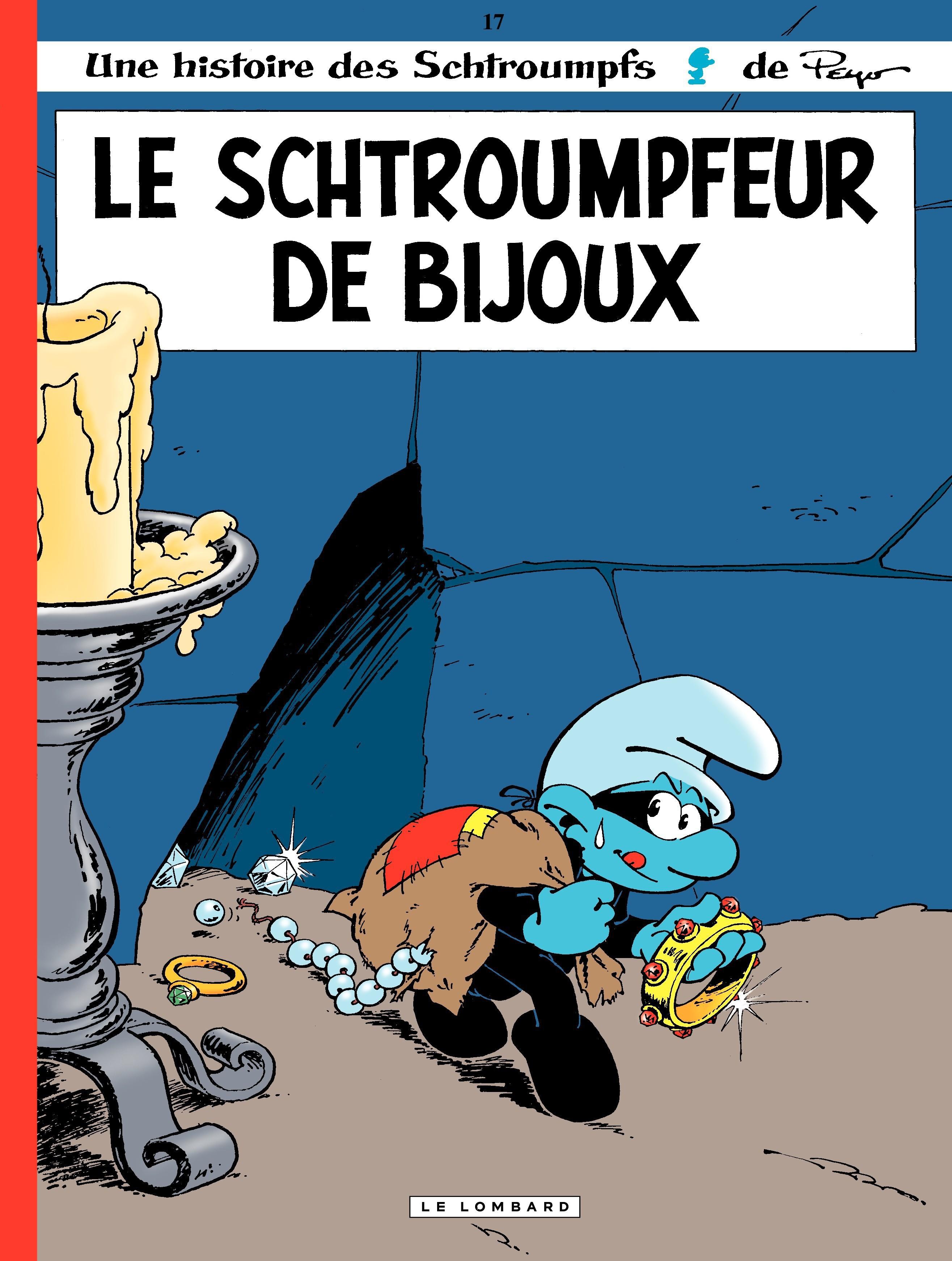 Les Schtroumpfs - tome 17 - Le schtroumpfeur de bijoux