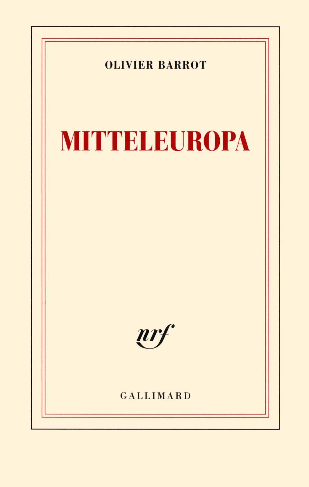 Mitteleuropa | Barrot, Olivier. Auteur