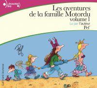 Cover image (Les aventures de la famille Motordu (Tome 1))