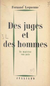Des juges et des hommes