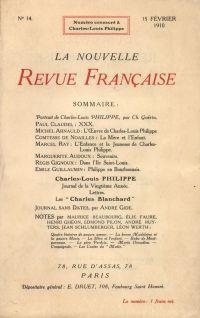Charles-Louis Philippe N' 14 (Février 1910)