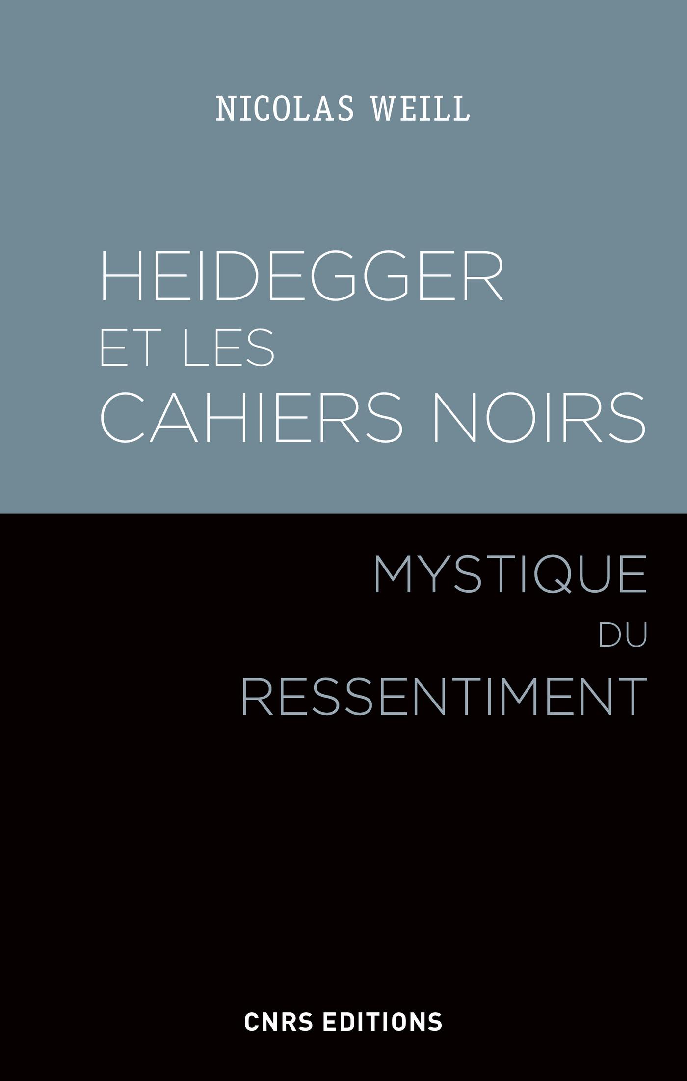 Heidegger et les Cahiers no...