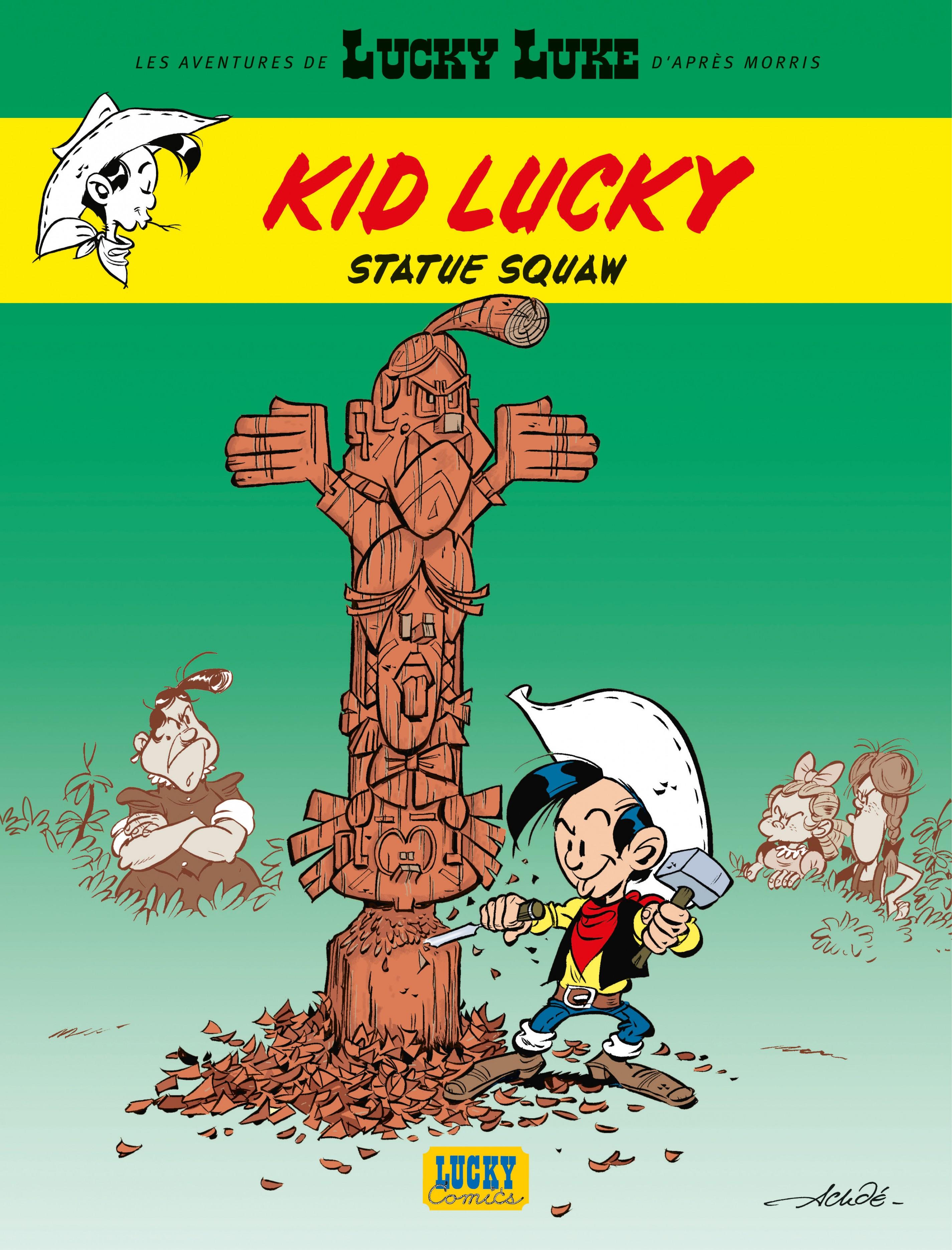 Les aventures de Kid Lucky d'après Morris - Tome 3 - Statue squaw