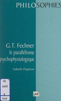 G. T. Fechner : le parallél...
