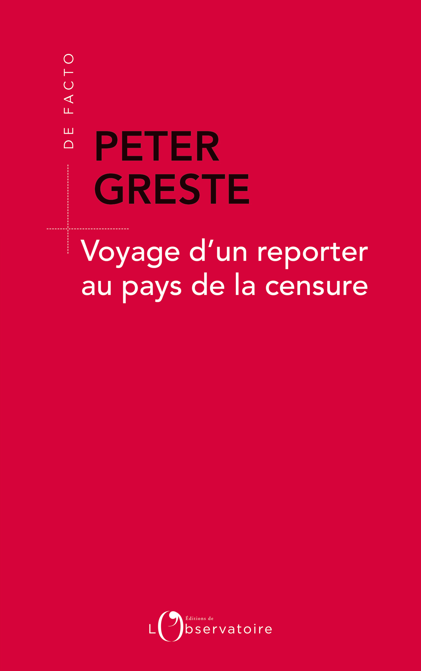 VOYAGE D'UN REPORTER AU PAY...