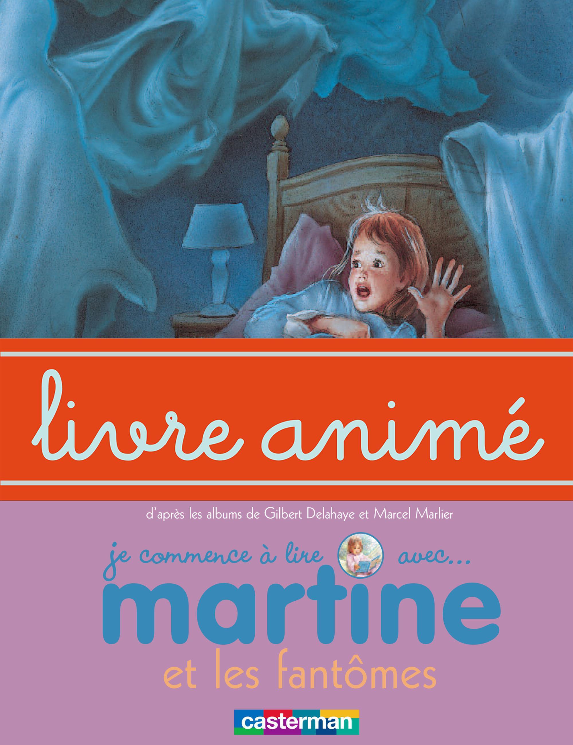 Martine et les fantômes - Livre animé
