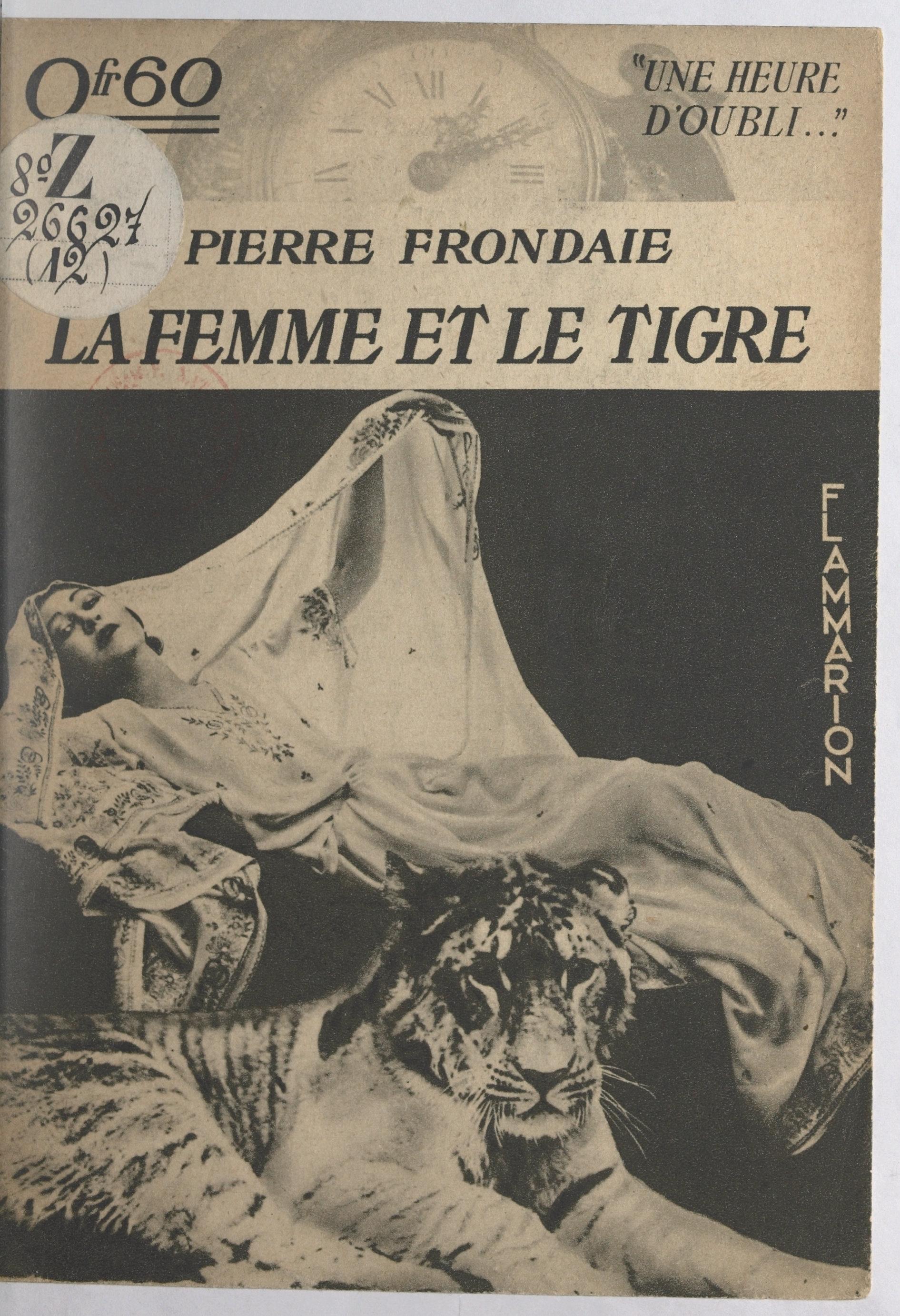 La femme et le tigre