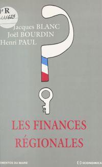 Les finances régionales