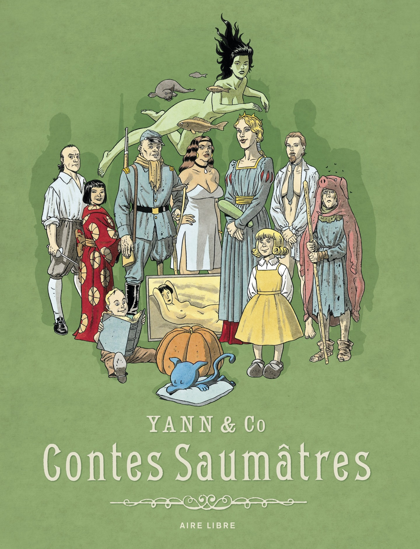 Contes saumâtres - tome 0 -...