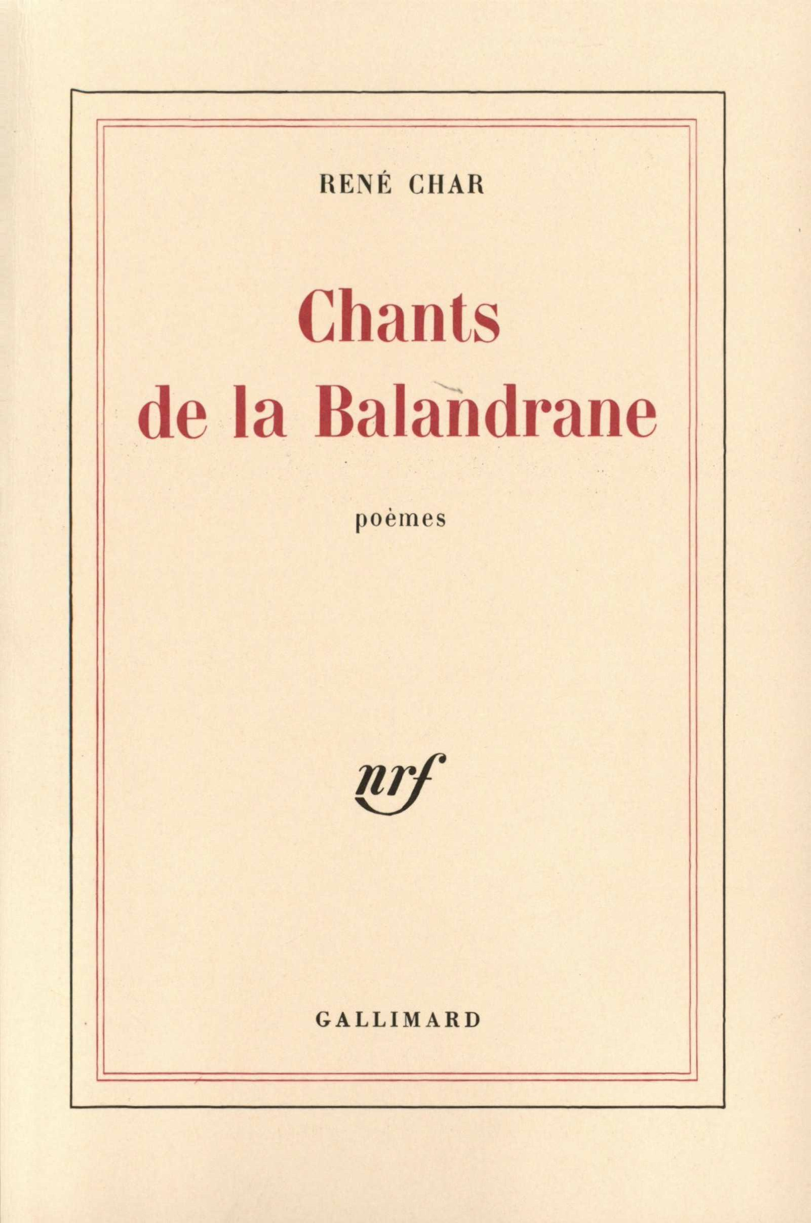 Chants de la Balandrane (1975-1977)