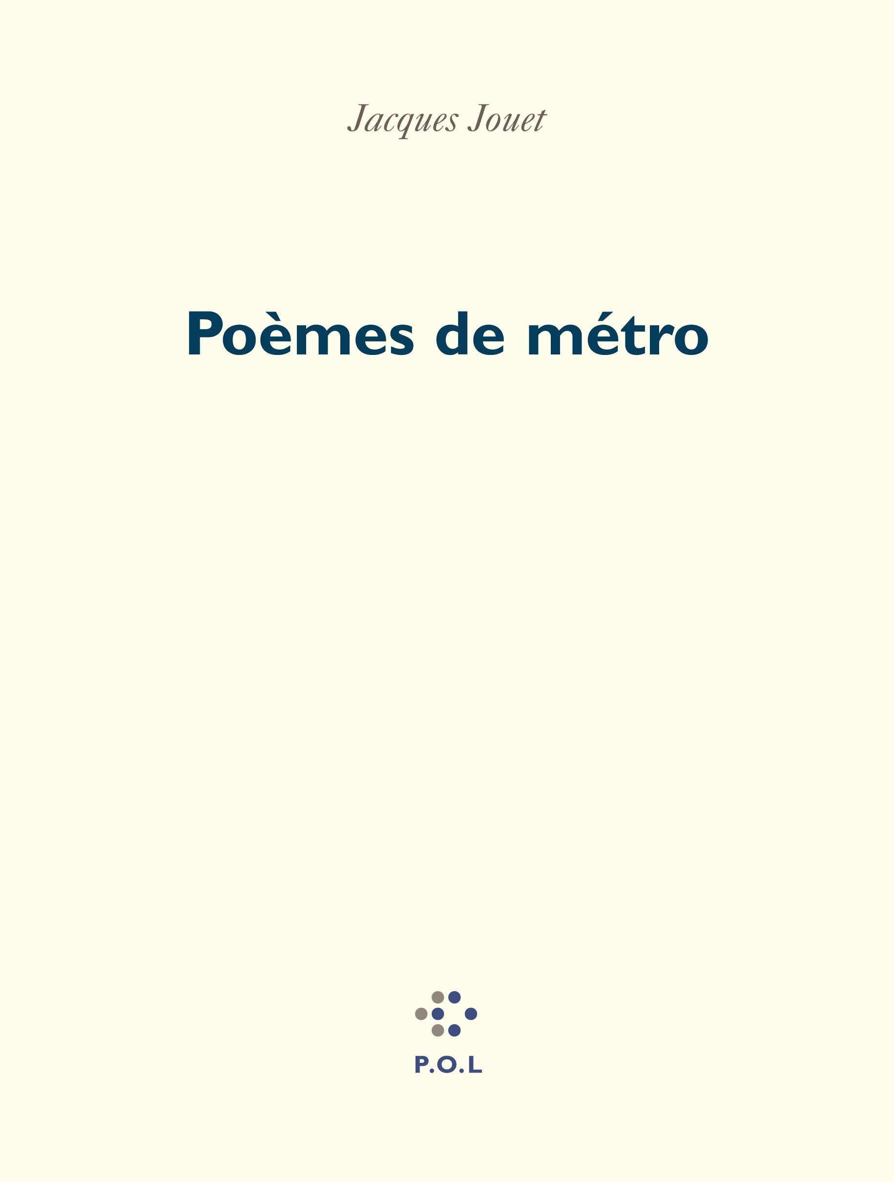Poèmes de métro