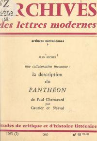 """La description du """"Panthéon..."""