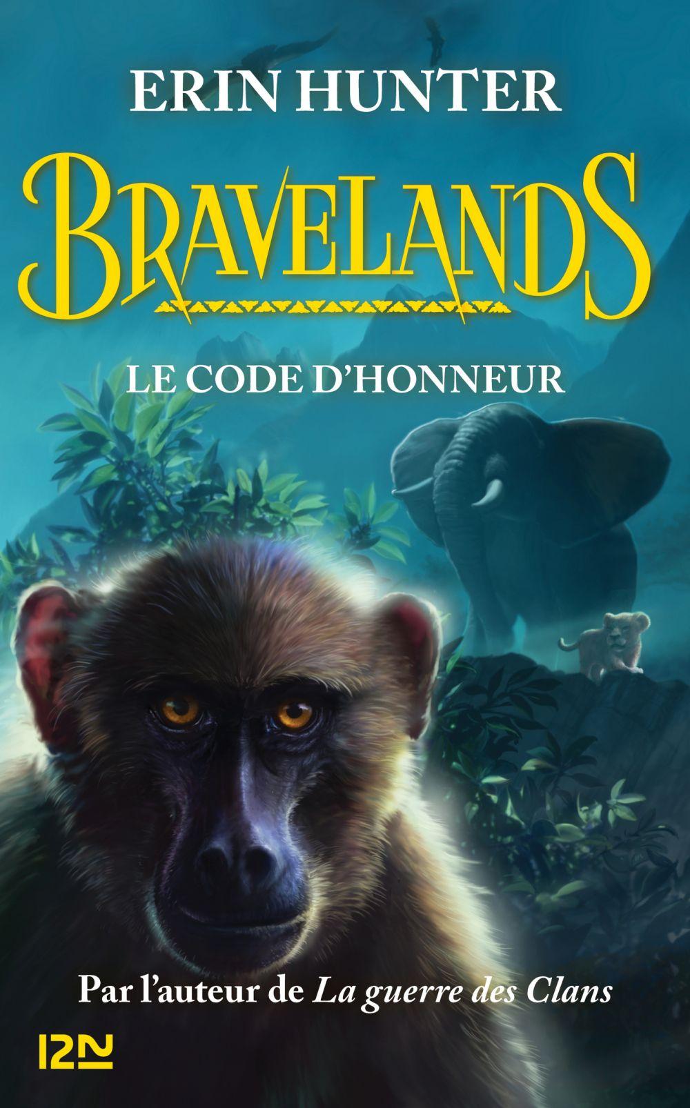 Bravelands - tome 2 : Le code d'honneur | HUNTER, Erin. Auteur