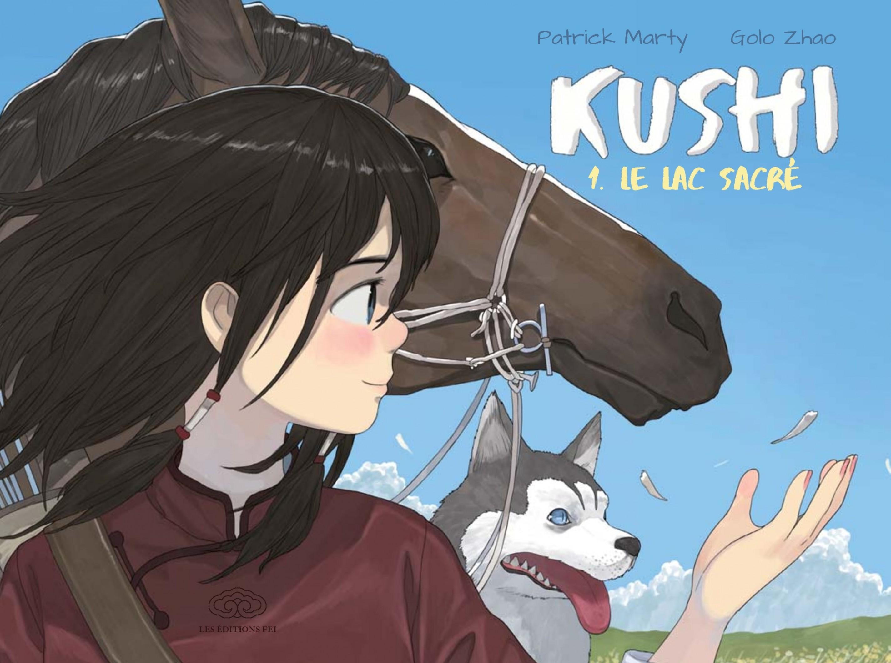 Kushi - Tome 1 - Le Lac sacré