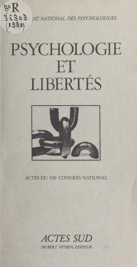Psychologie et libertés