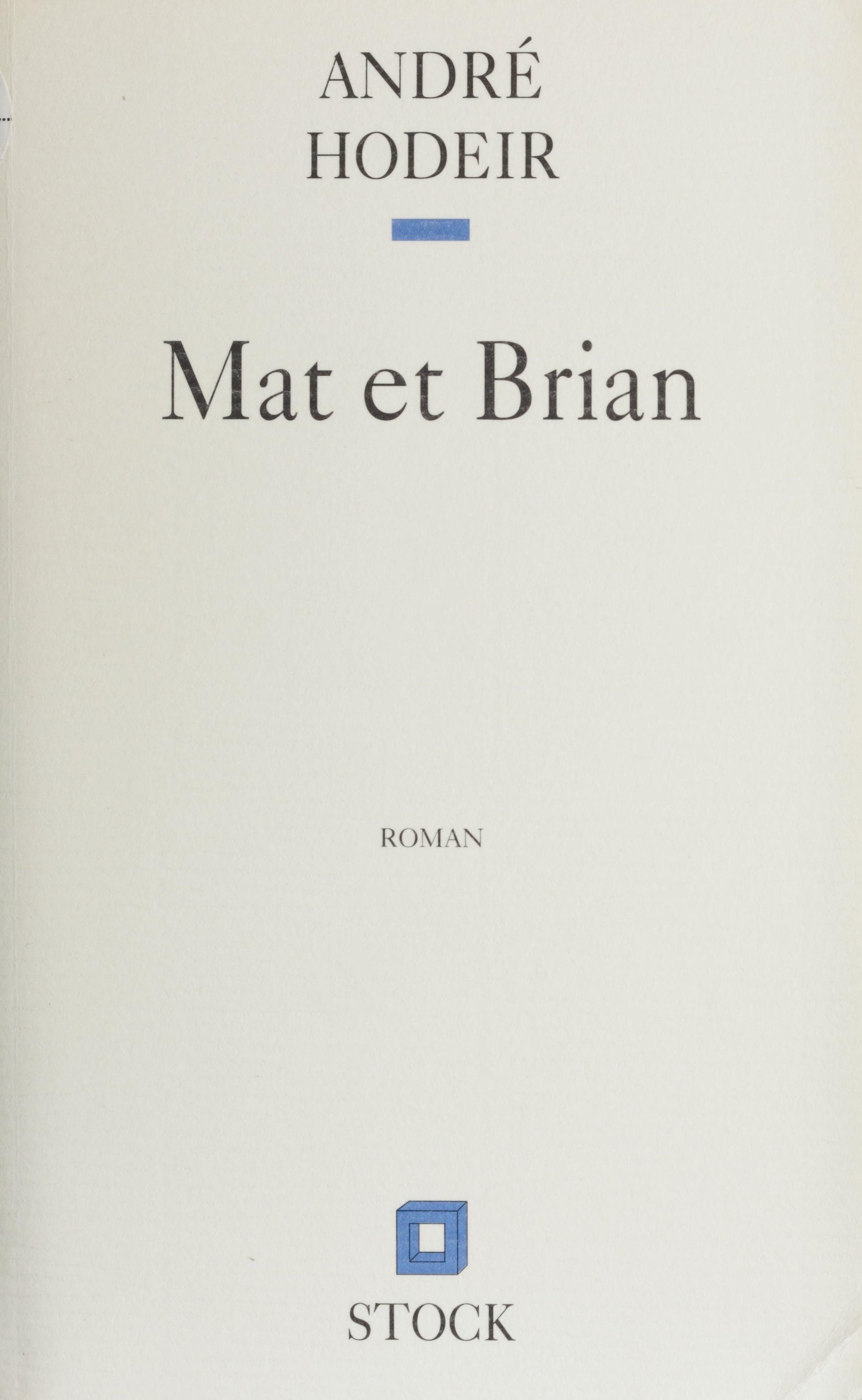 Mat et Brian