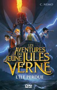 Les Aventures du jeune Jules Verne - tome 1 : L'île perdue | CANALS, Cuca. Auteur