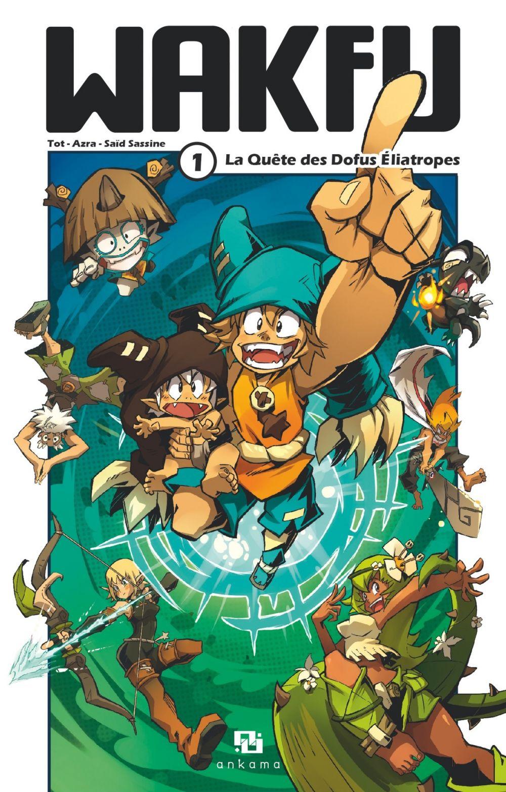 Wakfu Manga - Tome 1   Saïd Sassine, . Illustrateur