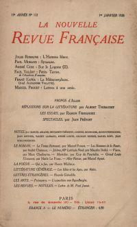 La Nouvelle Revue Française N' 172 (Janvier 1928)