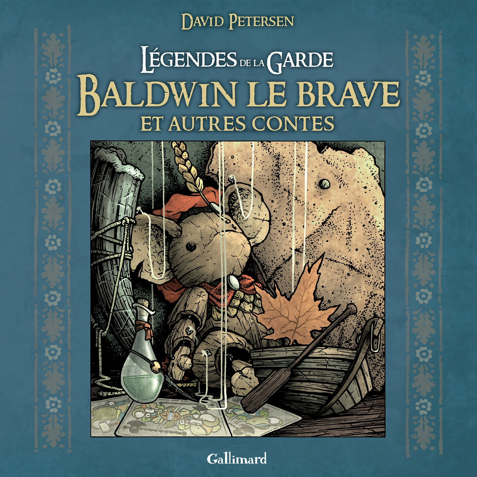Légendes de la Garde. Baldwin le brave et autres contes | Petersen David,