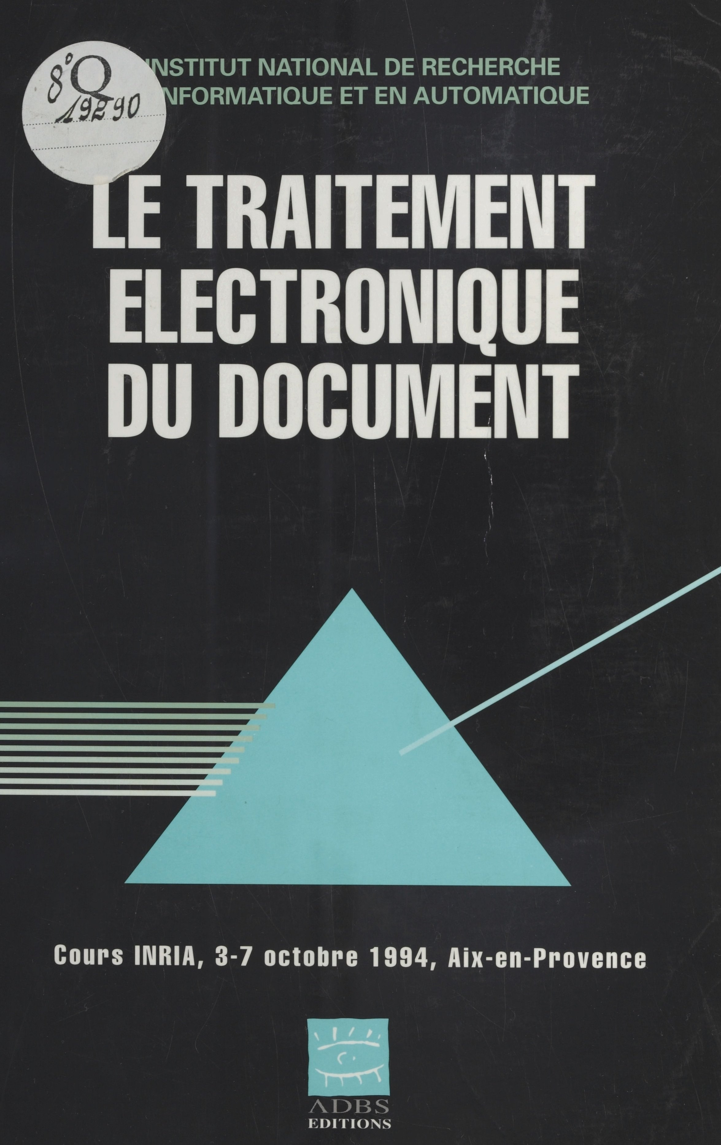 Le Traitement électronique du document
