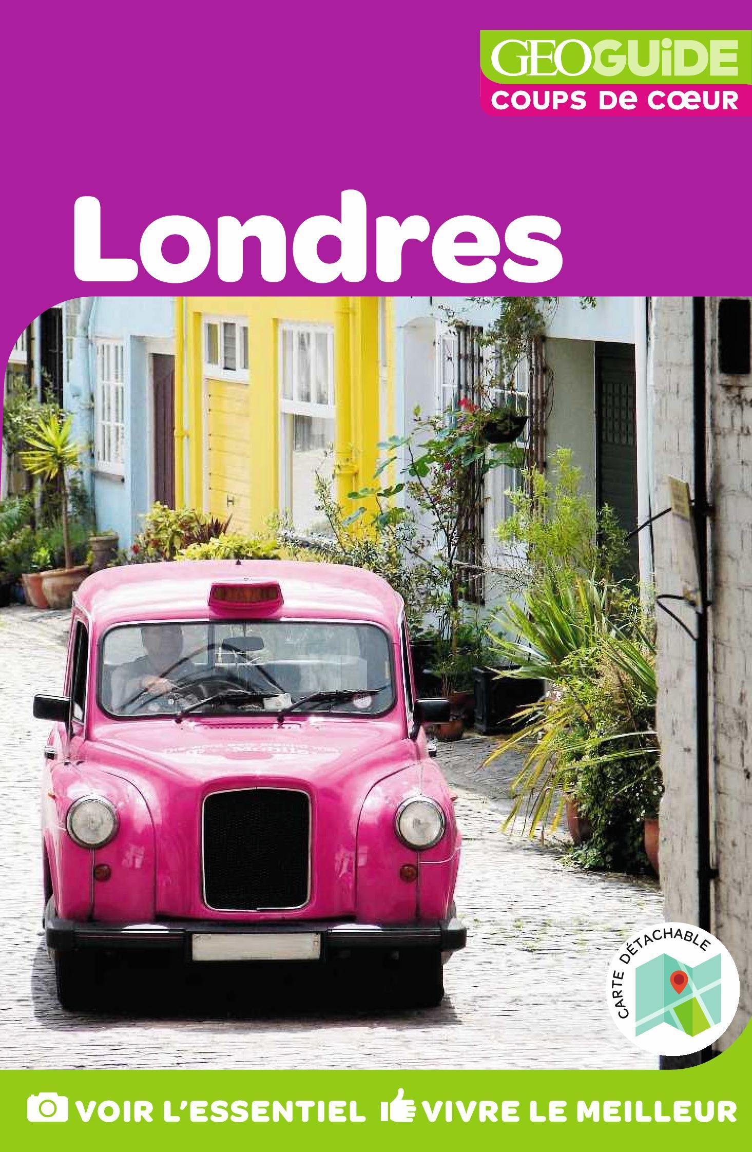 GEOguide Coups de coeur Londres | Collectif Gallimard Loisirs,