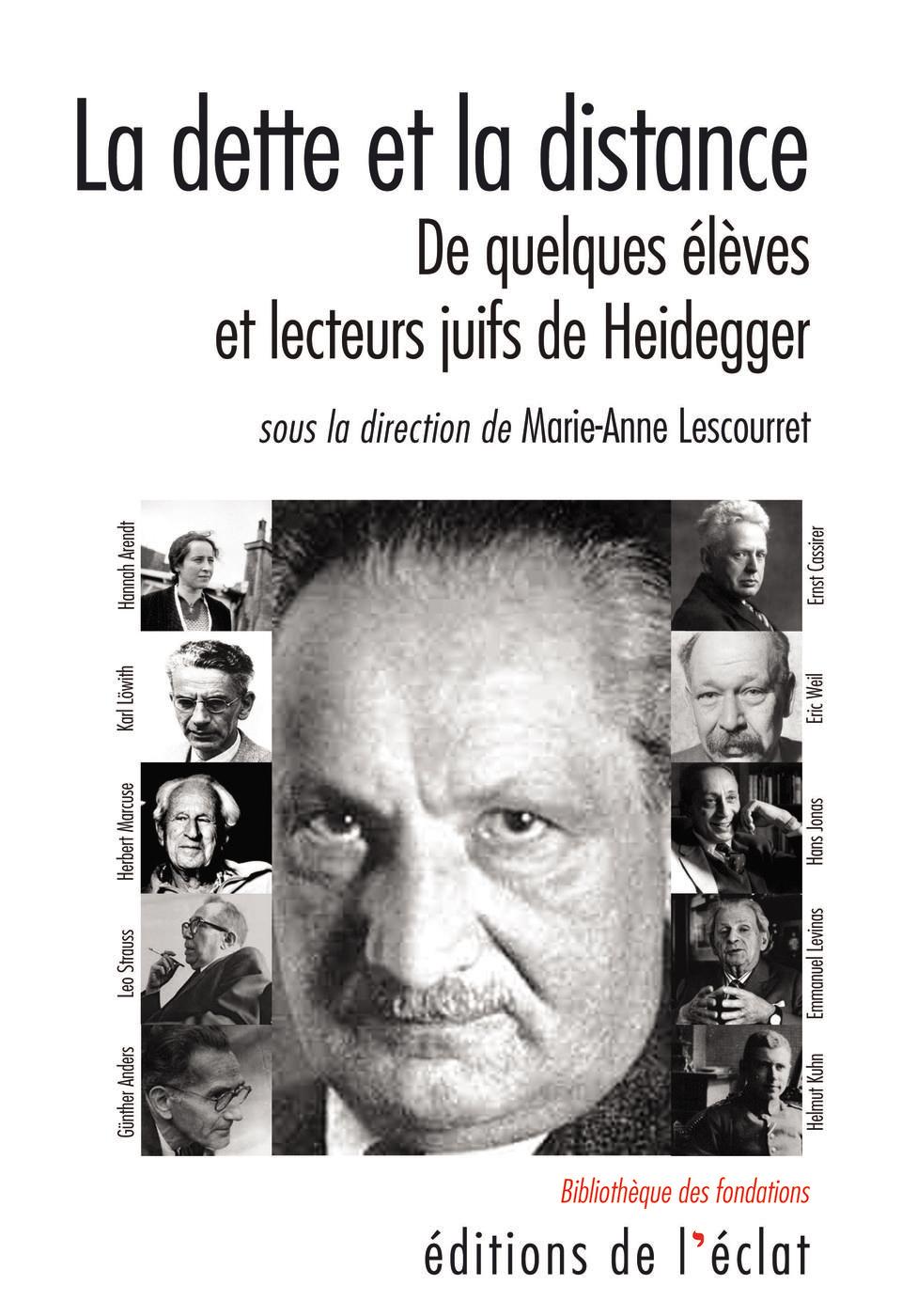 La dette et la distance, De quelques élèves et lecteurs juifs de Heidegger