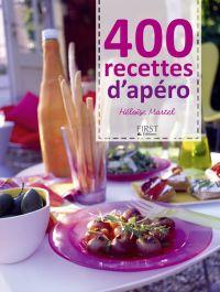 400 recettes d'apéro | Martel, Héloïse. Auteur