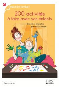 Image de couverture (200 activités à faire avec vos enfants)