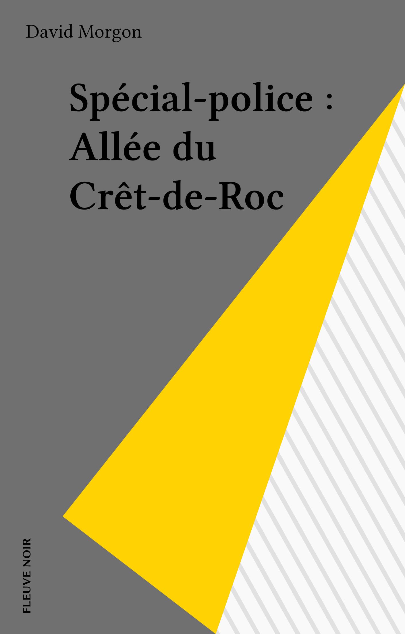 Spécial-police : Allée du Crêt-de-Roc
