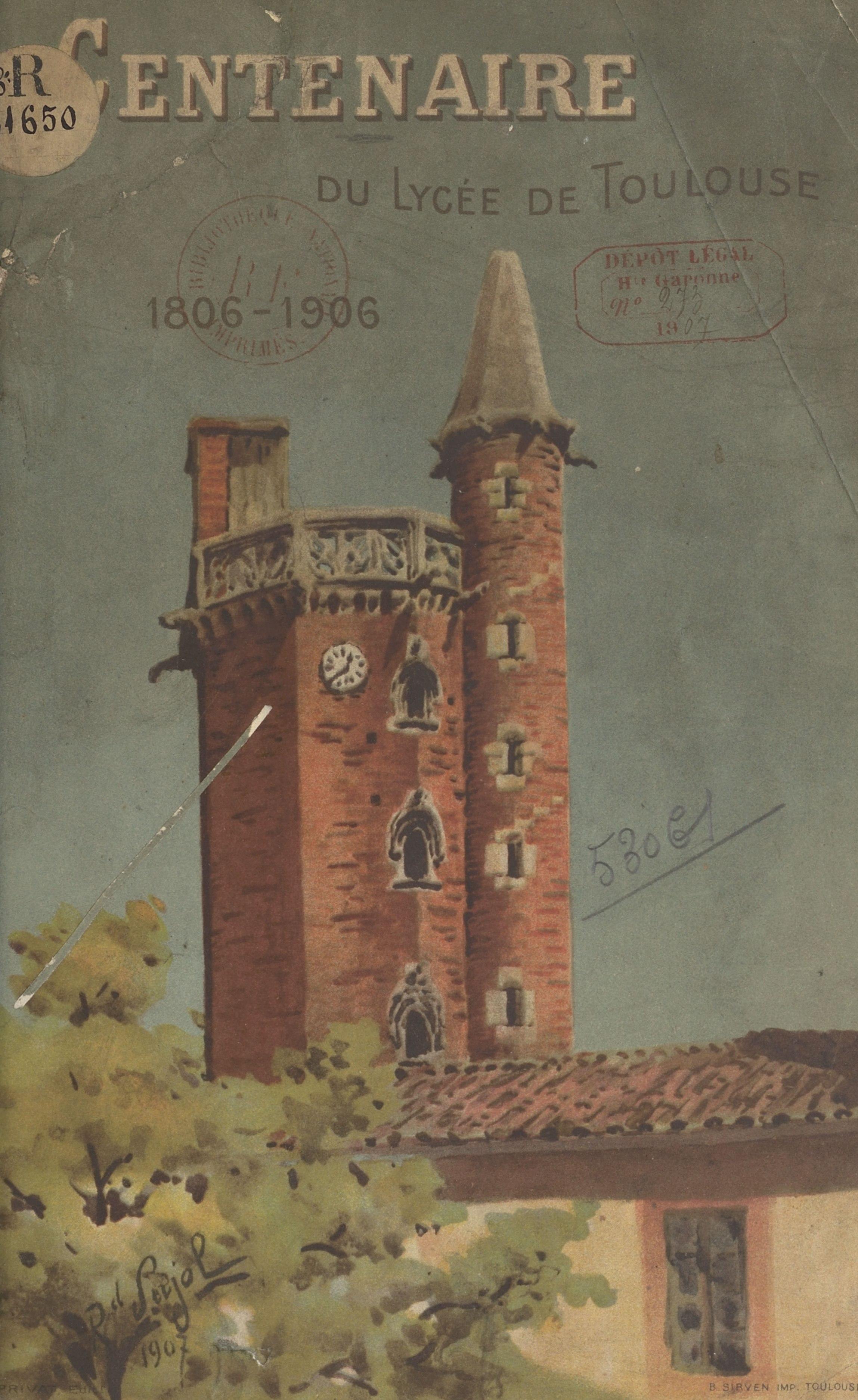 Centenaire du lycée de Toul...
