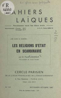 Les religions d'État en Sca...