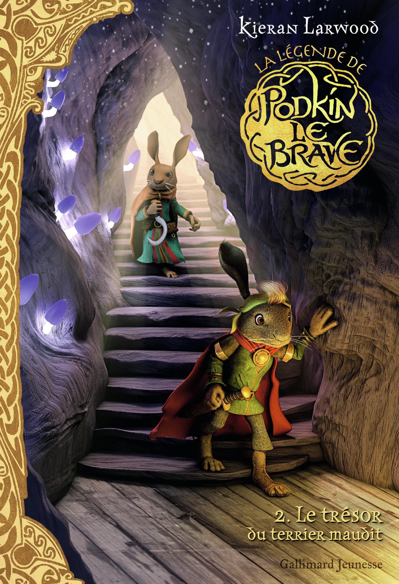La légende de Podkin Le Brave (Tome 2) - Le trésor du terrier maudit