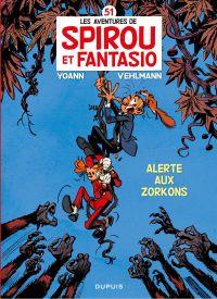 Spirou et Fantasio - Tome 51 - Alerte aux Zorkons (pour Leclerc)