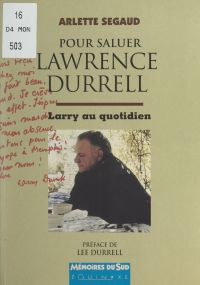 Pour saluer Lawrence Durrell