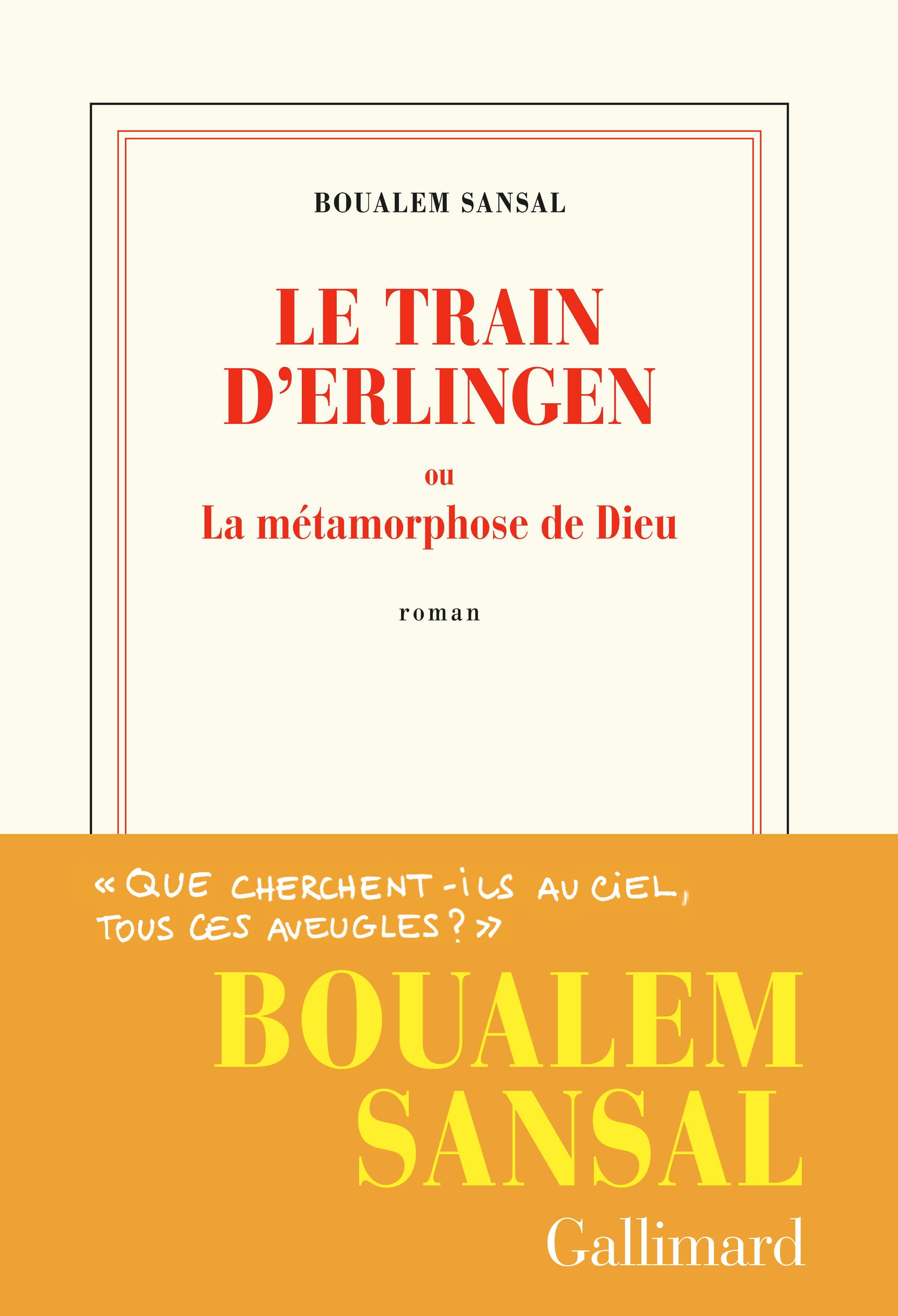 Le train d'Erlingen ou La métamorphose de Dieu |