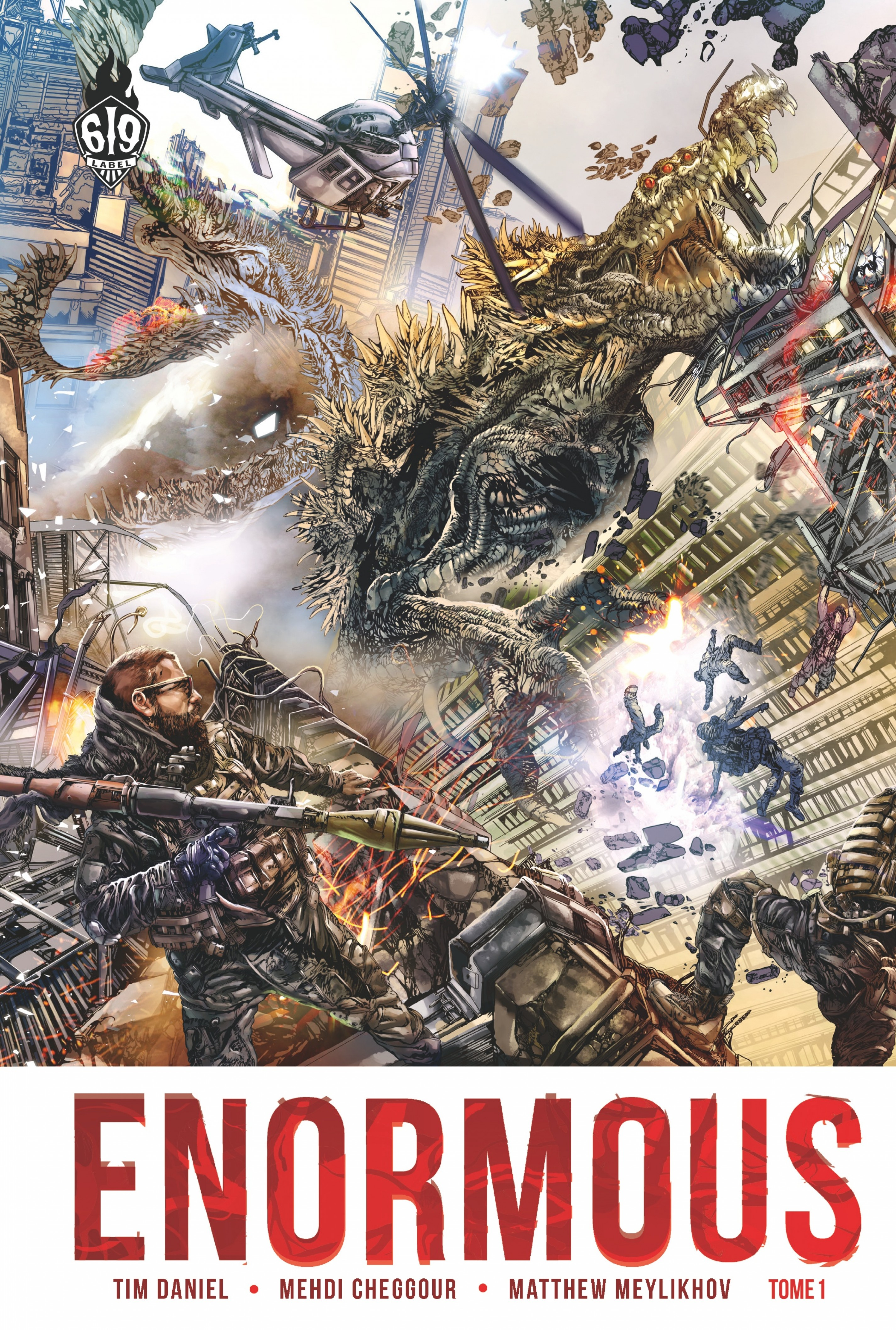Enormous - Tome 1